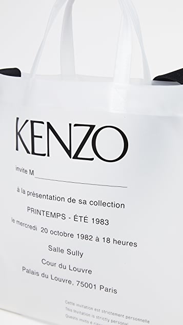 KENZO Transparent Tote