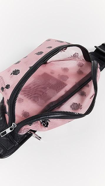 KENZO Сетчатая поясная сумка Roses