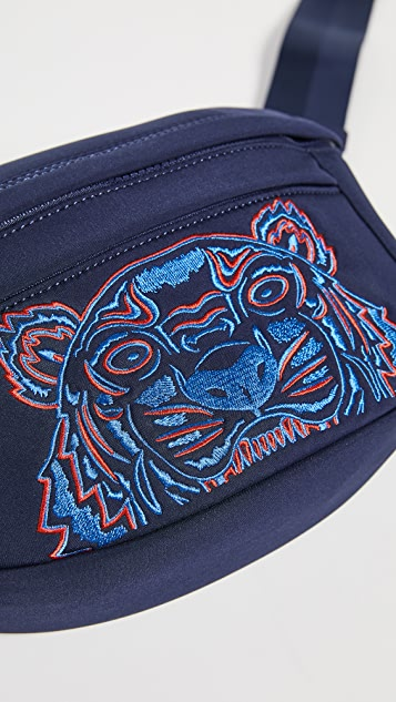 KENZO Поясная сумка с тигром