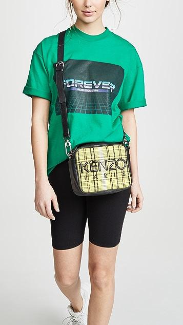 KENZO Checker Camera Bag