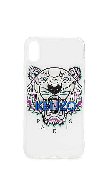 KENZO Чехол Coque Tiger Head для iPhone XS MAX