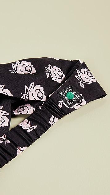 KENZO 玫瑰元素发带