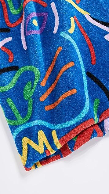KENZO Tiger Head Beach Towel