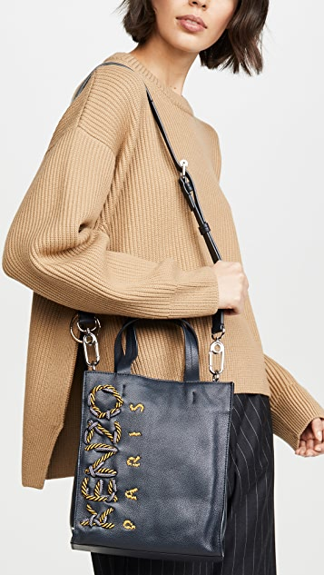 KENZO Kontrast Small Vertical Shopper Bag