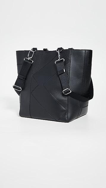 KENZO Объемная сумка с короткими ручками Kube для покупок