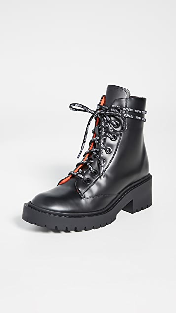 KENZO Pike Lace Up Boots