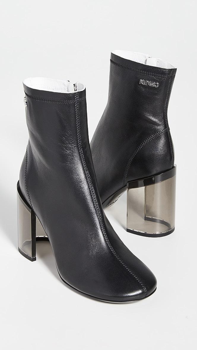 KENZO K Round Heeled Boots   SHOPBOP