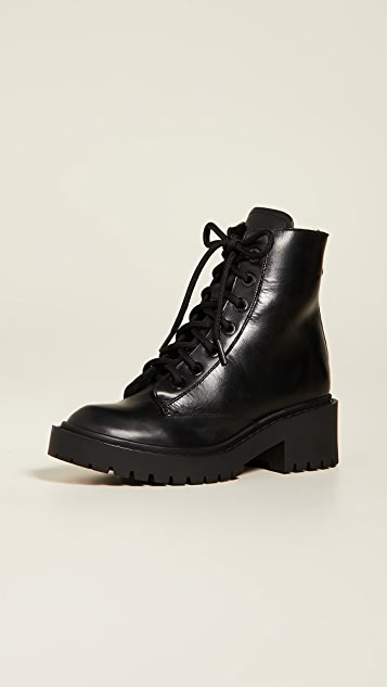 Pike Fur Lined Boots by Kenzo