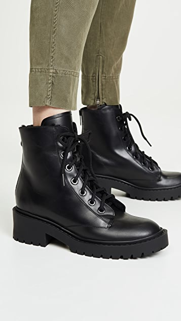 KENZO Pike Fur-Lined Boots