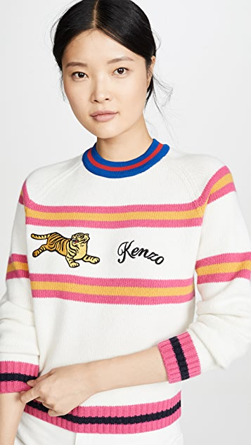 KENZO Свитер Jumping Tiger