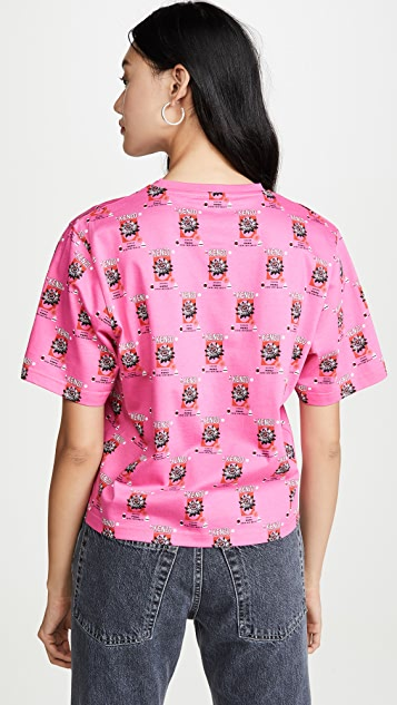 KENZO Свободная футболка Allover