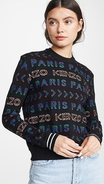 KENZO 整版 Kenzo Paris 毛衣