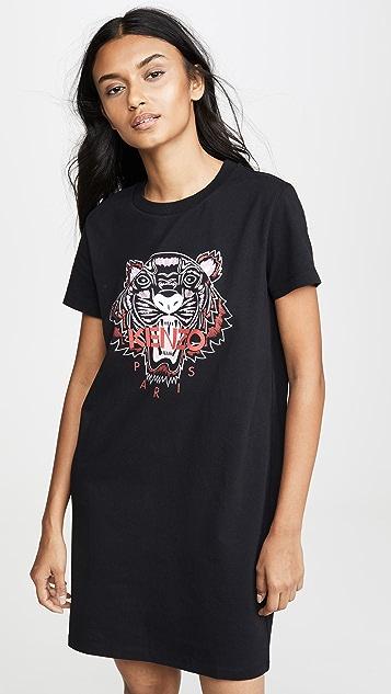 Kenzo Dress Classic Tiger T-Shirt Dress