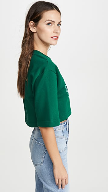 KENZO Tonal Tiger Cropped Sweatshirt