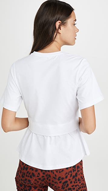 KENZO Kenzo 徽标交叠 T 恤