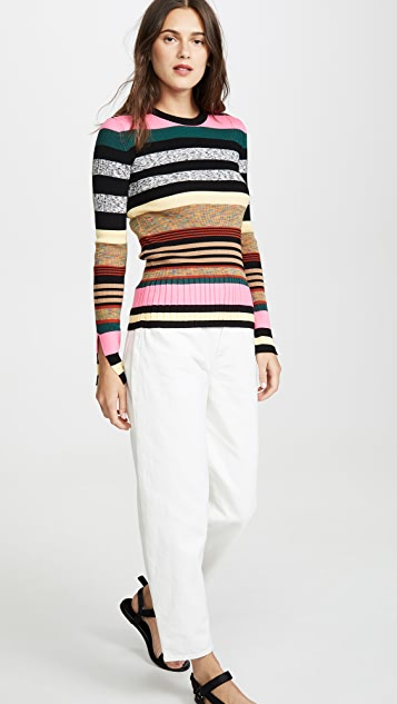 KENZO Multicolor Striped Sweater