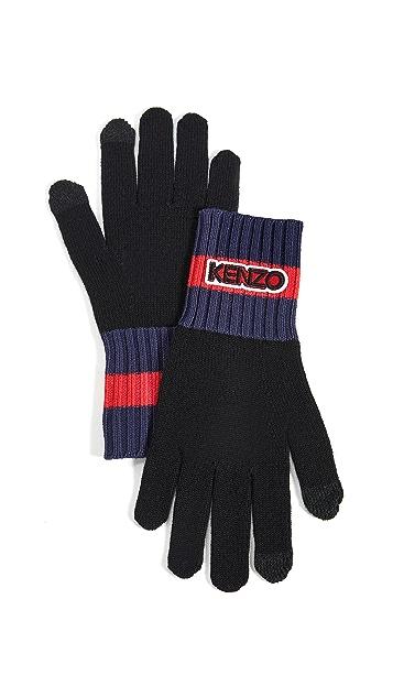 KENZO Kenzo Tag Gloves