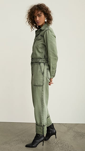 KENZO Workwear Denim Jumpsuit