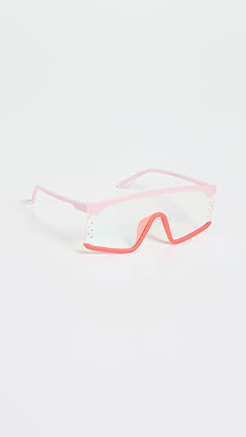 KENZO Sporty Shield Sunglasses