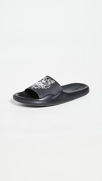KENZO 虎头穆勒鞋