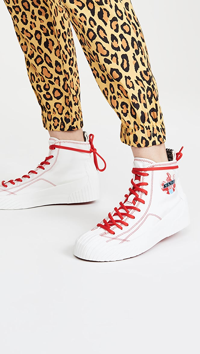KENZO Volkano High Top Sneakers
