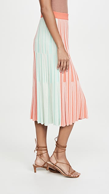 KENZO 中长半裙