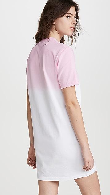 KENZO Dip Dyed Comfort T-Shirt Dress