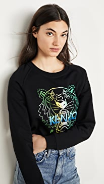 Raglan Straight Sweatshirt
