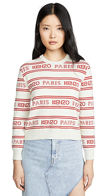 KENZO All Over Kenzo Jacquard Sweater