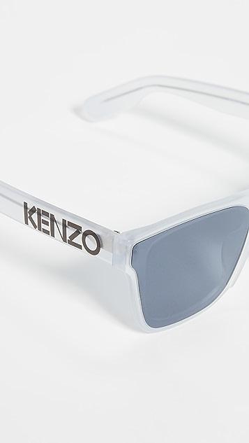 KENZO Classic Flat Top Sunglasses