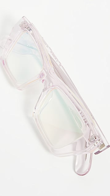 KENZO Narrow Rectangular Sunglasses