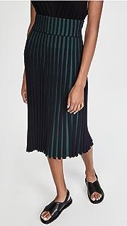 KENZO 裥褶裙身