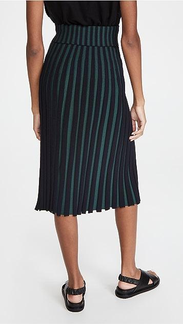 KENZO Pleated Skirt