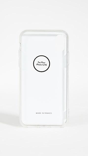 KENZO iPhone X/XS 老虎树脂 3D 手机壳