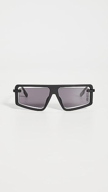 KENZO Shield Sunglasses