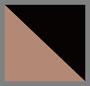Brown/Shiny Black