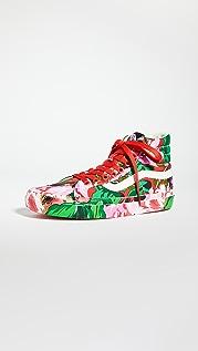 KENZO x Vans 高帮运动鞋