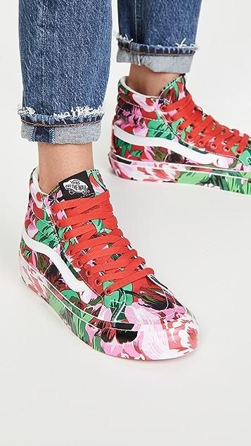 KENZO x Vans High Top Sneakers