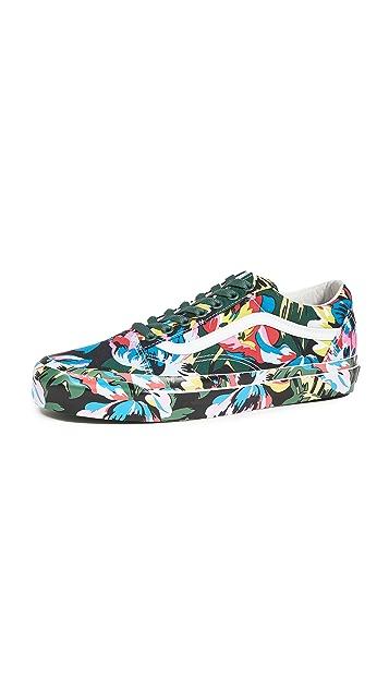 KENZO x Vans Low Top Sneakers