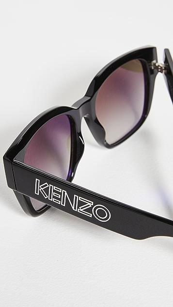 KENZO Classic Wayfarer 太阳镜