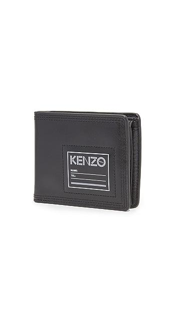 KENZO Leather Wallet