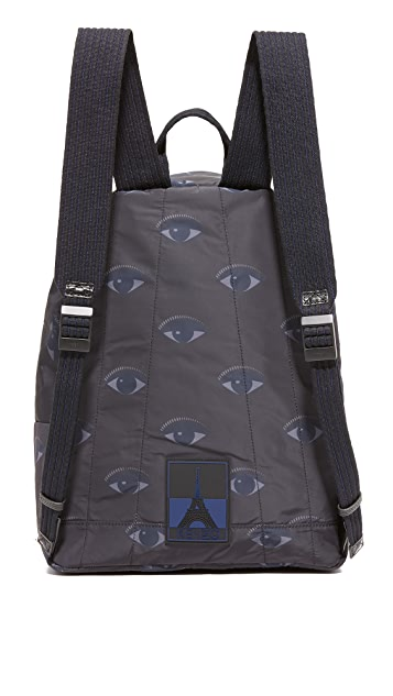 KENZO Essentiels Eyes Backpack