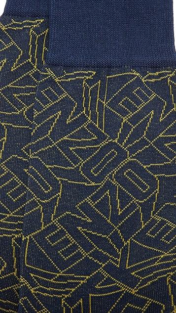 KENZO Flying Logo Socks