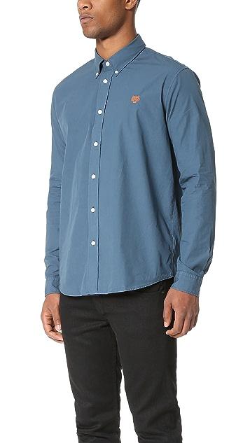 KENZO Tiger Crest Poplin Shirt