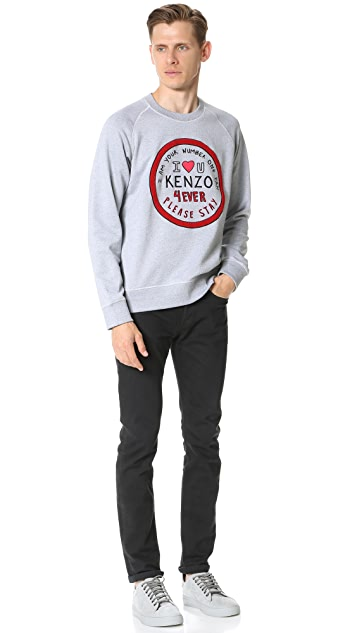 KENZO Molleton Please Stay Sweatshirt