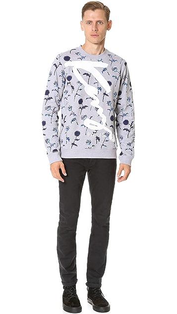 KENZO Dandelion Print Sweatshirt