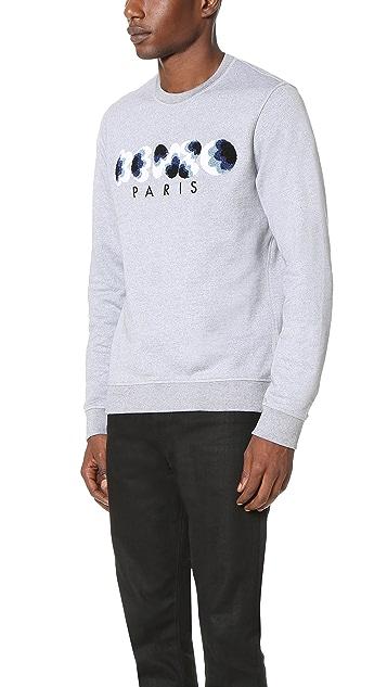 KENZO Solid Cotton Sweatshirt