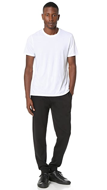 KENZO Solid Cotton Sweatpants