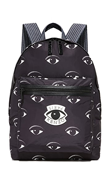 b1007a5a9 KENZO Essentiels Eyes Backpack | EAST DANE