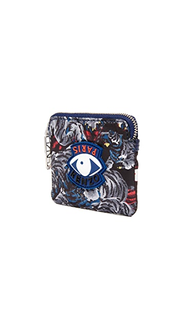 KENZO Essentiels Zip Wallet